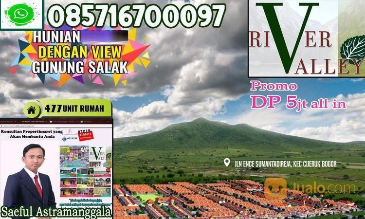 Rumah Murah Di River Valley Bogor View Gunung Salak (19591243) di Kota Bogor