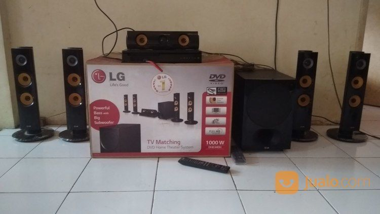 Honetheater Audio 5.1ch Systen Merk LG (19591923) di Kota Semarang
