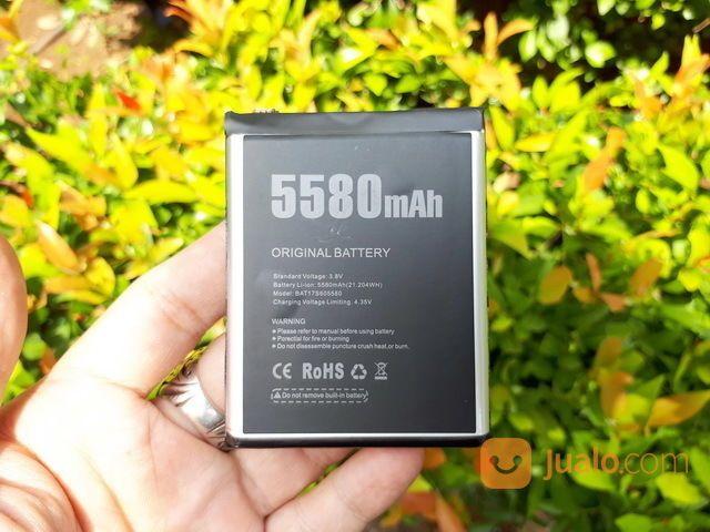 Baterai Doogee S60 Outdoor Phone New Original Doogee 5580mAh (19635583) di Kota Jakarta Pusat