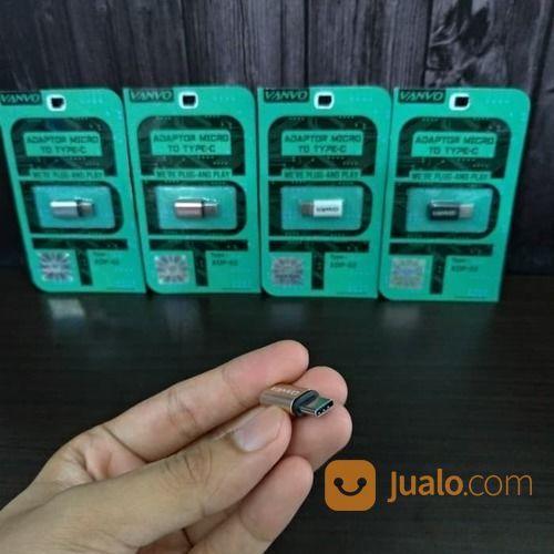 Converter Charger Micro USB - Type C VANVO (19647887) di Kota Surakarta