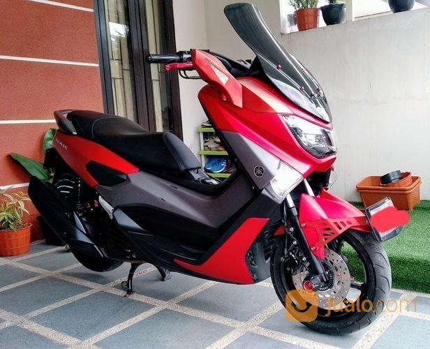 Nmax Merah Doff Th 2017 Modifikasi Elegant (19658007) di Kota Bandung