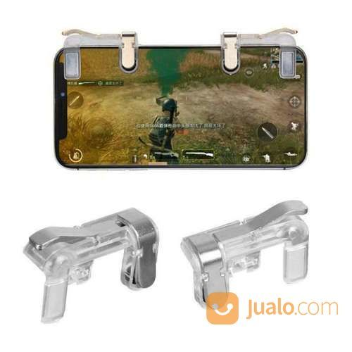 Joystick Game PUBG V6 Transparan L1 R1 III Metal Gaming Murah