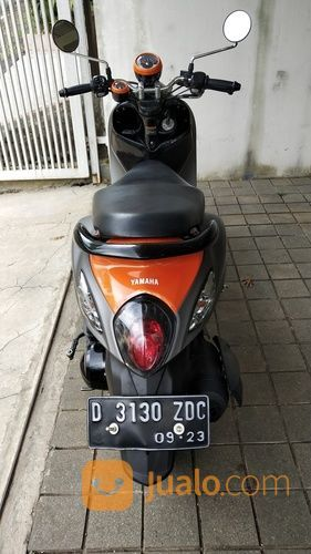 Motor Yamaha Fino Sporty 2018 Bandung Km 4rb Baru 7 Bulan Pajak Panjang (19680271) di Kota Bandung