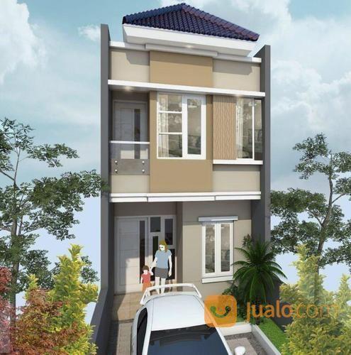 Rumah Baru Gress 2 Lantai Medokan Sawah Desain Modern Minimalis 3 Kamar Tidur (19686999) di Kota Surabaya