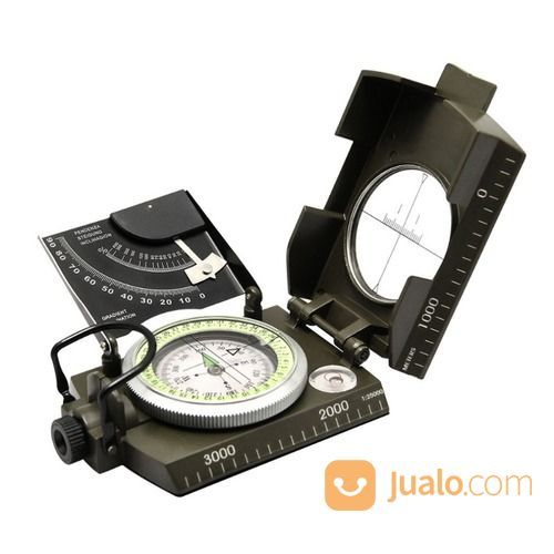 Kompas Lensatik Prismatik Kompas Metal (19692211) di Kab. Bantul