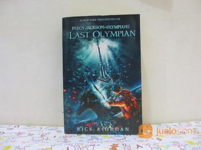 PRELOVED Percy Jackson & The Olympians: The Last Olympian (19699391) di Kab. Sleman