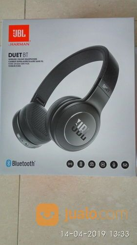 JBL DUET BT Headphones On- Ear Wireless Bluetooth Original Hitam (19720079) di Kota Surabaya