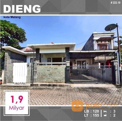 Rumah Murah 2 Lantai Luas 155 Di Dieng Kota Malang _ 222.19 (19736263) di Kota Malang