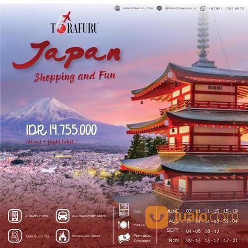 Paket Wisata Jepang (Tokyo, Disney Land/Sea) + Fuji (19746043) di Kota Bandung