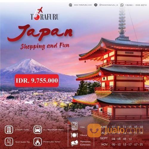 Paket Wisata Ke Jepang (Tokyo, Disney Land/Sea) + Fuji (19752311) di Kota Bandung