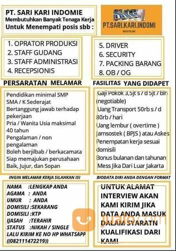 Lowongan Kerja 2019 Jakarta Selatan Jualo