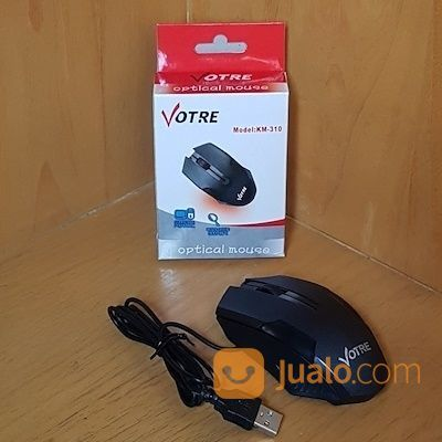 Votre KM-310 Optical Mouse USB KM310 (19786895) di Kota Surakarta