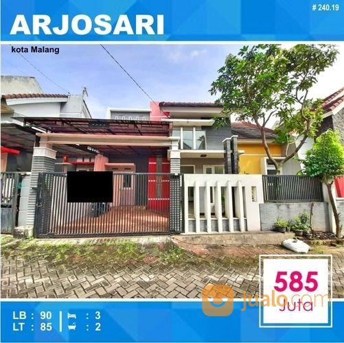 Rumah Murah 2 Lantai Di Teluk Teluk Arjosari Kota Malang _ 240.19 (19817759) di Kota Malang