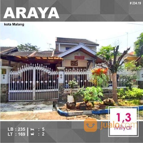 Rumah Murah 2 Lantai Luas 169 Di PBI Araya Kota Malang _ 234.19 (19819611) di Kota Malang