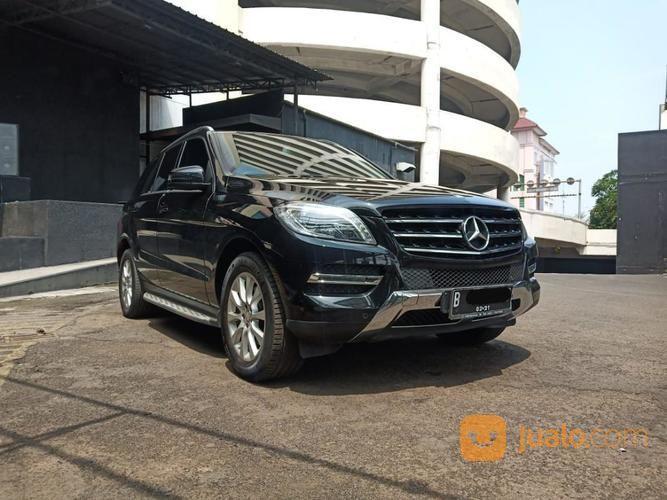 2014 Mercy Mercedes Benz ML 250 CDI Diesel ATPM Hitam 30Rb Miles (19828559) di Kota Jakarta Pusat