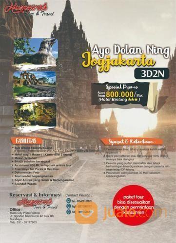 Trip To Jogja 3 Hari 2 Malam (19860695) di Kota Surabaya