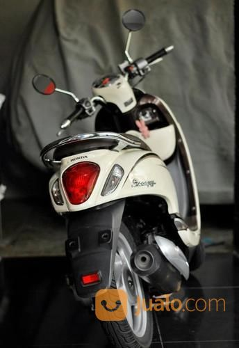 Dari Baru 1 Honda Scoopy 2014 Cream Cokelat Jakarta Motor Honda LED ExWanita (19916879) di Kota Jakarta Timur