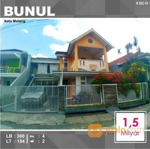 Rumah Murah 2 Lantai Luas 184 Di SKI Bunul Kota Malang _ 262.19 (19919515) di Kota Malang