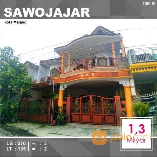 Rumah Murah 2 Lantai Luas 135 Di Limboto Sawojajar 1 Kota Malang _ 264.19 (19919799) di Kota Malang