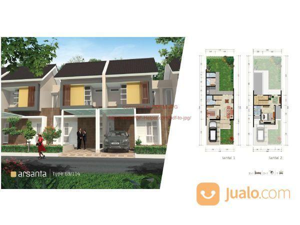 Rumah Cluster Samata Type Arsanta 2 Lantai Di ,Harapan Indah Bekasi Barat MD697 (19984951) di Kab. Bekasi