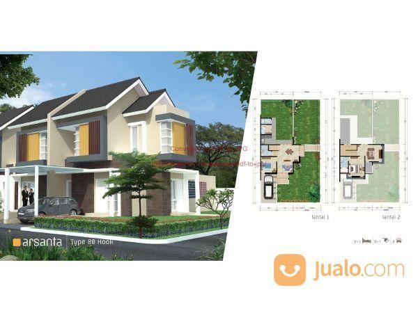 Rumah Cluster Samata Type Arsanta 2 Lantai Di ,Harapan Indah Bekasi Barat MD697 (19984955) di Kab. Bekasi