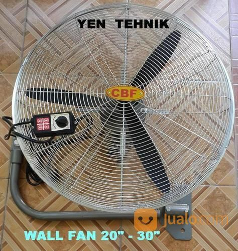 Wall Fan 20 Inch Full Besi Heavy Duty Industri (19990011) di Kota Surabaya