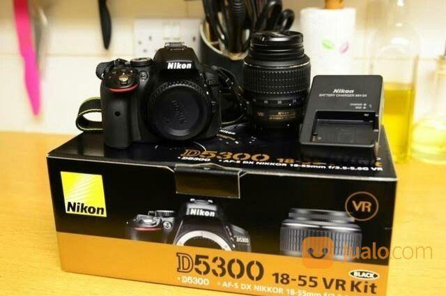 Kamera Nikon D5300 (18-55) (19991255) di Kota Jakarta Pusat