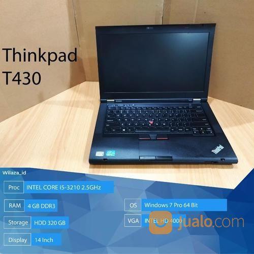 Laptop Bekas Lenovo Thinkpad T430 Core I5 Jakarta Pusat Jualo