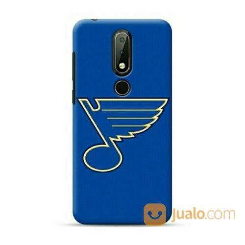 St Louis Blues Nokia 6.1 Plus / X6 Custom Hard Case (20020415) di Kota Bekasi