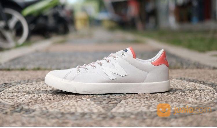 Sepatu - Sneakers New Balance Numeric 210 Grey Orange Original (20022811) di Kab. Sleman