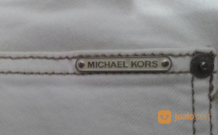 Flared Jeans Michael Kors Broken White Original Kondisi 95% Mantull (20033747) di Kota Jakarta Pusat