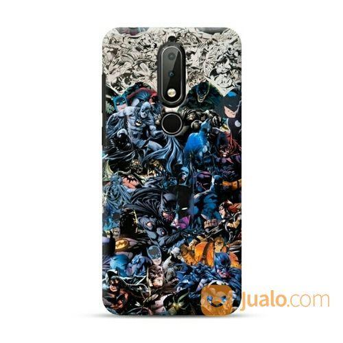 Batman Collage Nokia 6.1 Plus / X6 Custom Hard Case (20045575) di Kota Bekasi