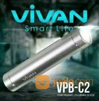 VIVAN POWERBANK VPB-C2 2500MAH ORIGINAL (20070695) di Kota Banjarmasin