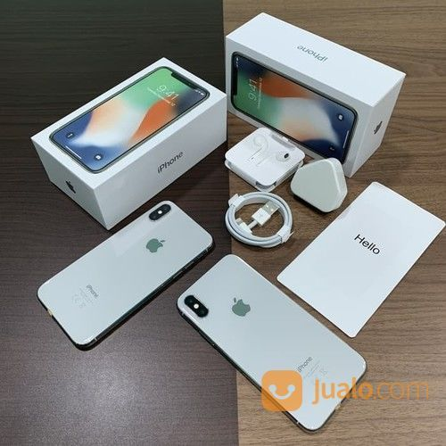 IPhone X 64gb Inter Bisa Dicicil (20103655) di Kota Jakarta Pusat