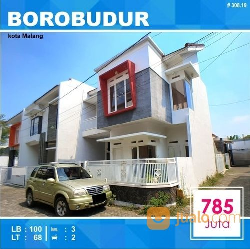 Rumah Hook Murah 2 Lantai Daerah Borobudur Suhat Kota Malang _ 308.19 (20111155) di Kota Malang