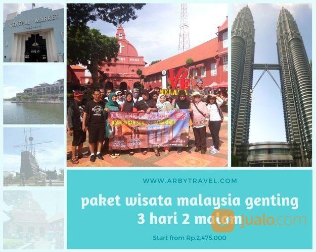 Paket Wisata Malaysia Genting Malaka 3H2M (20114499) di Kab. Sidoarjo