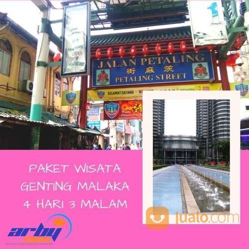Paket Wisata Malaysia 4H3M ( KL - Genting - Malaka ) (20115203) di Kab. Sidoarjo