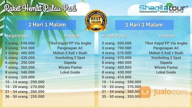 Paket Wisata Pulau Pari (20147999) di Kab. Kep. Seribu