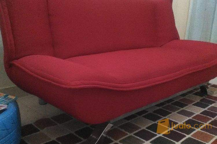 Sofa Bed Merah Made In Informa Medan Jualo