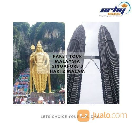 Paket Tour Malaysia Singapore 3D2N (20177959) di Kab. Sidoarjo