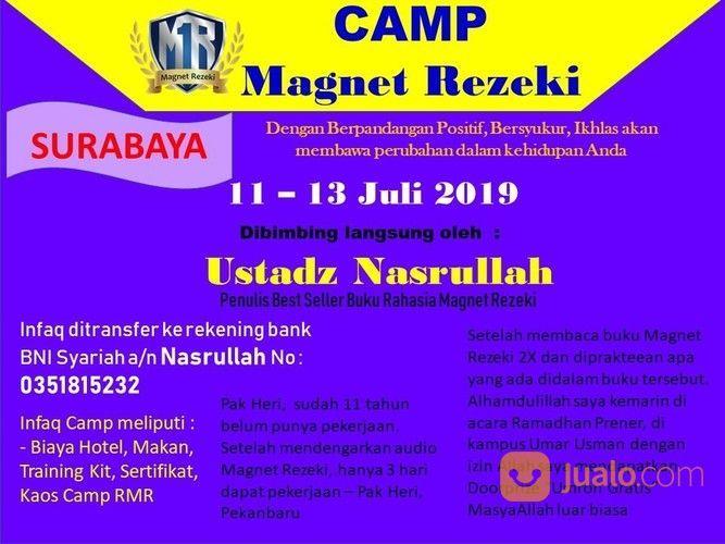 Camp magnet rezeki su jasa dan pekerjaan lainnya 20186951