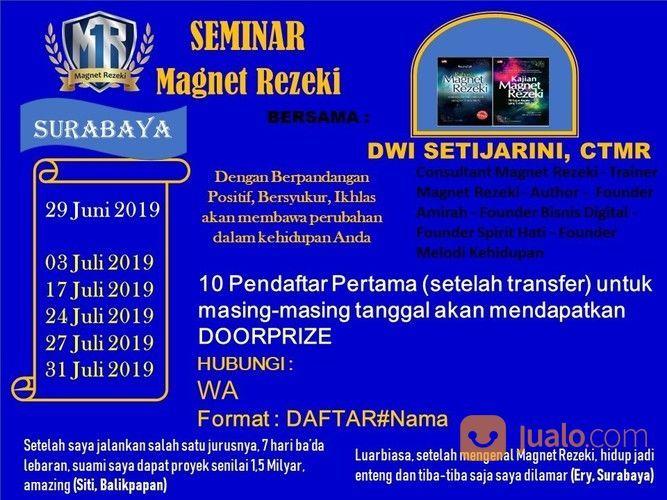 Seminar magnet rezeki jasa dan pekerjaan lainnya 20195671