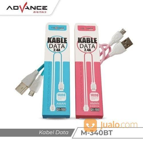 Kabel Data Fast Charger Advance Q1-100 Micro Usb (20196315) di Kota Surakarta