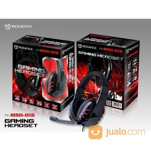 Headphone Game Mediatech Gaming Headset Zeus MSH-016 / MSH 016 (20196327) di Kota Surakarta