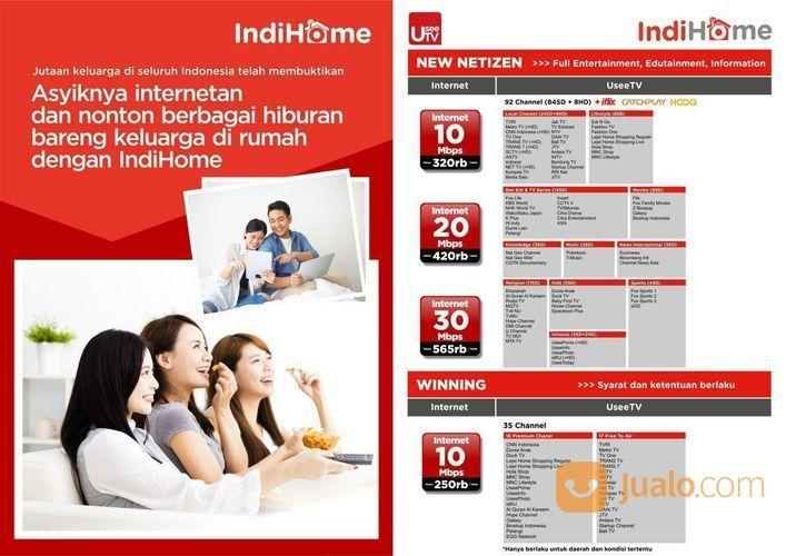 Internet Wifi & Interactive Tv IndiHome (20203623) di Kota Salatiga