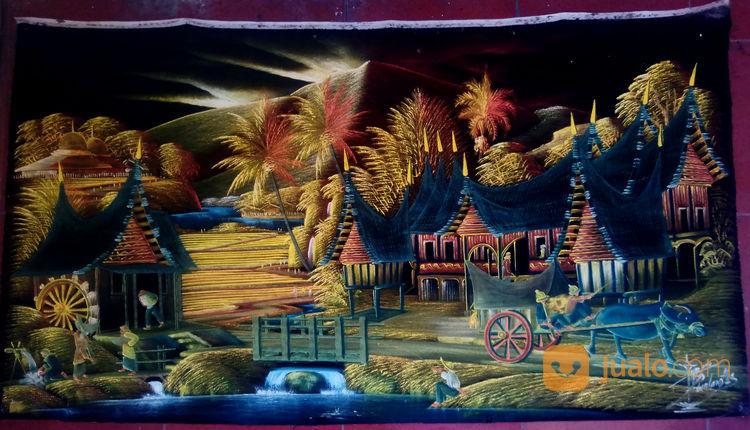 Lukisan Ranah Minang 2 | Surakarta | Jualo