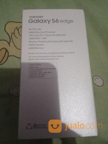 Samsung S6 Flatt 64gb Fullset (20239459) di Kota Jakarta Barat
