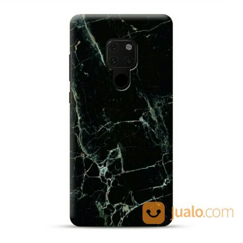 China Black Spider Marble Huawei Mate 20 Custom Hard Case (20243803) di Kota Bekasi