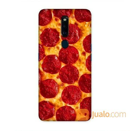 Pizza Oppo F11 Custom Hard Case (20263431) di Kota Bekasi