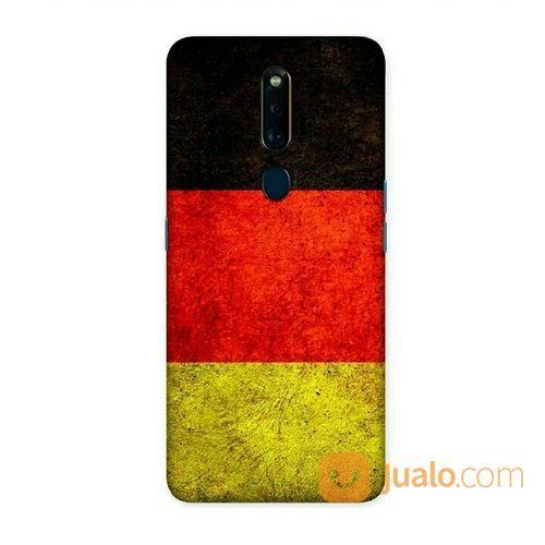 Germany Grunge Flag Oppo F11 Custom Hard Case (20265143) di Kota Bekasi